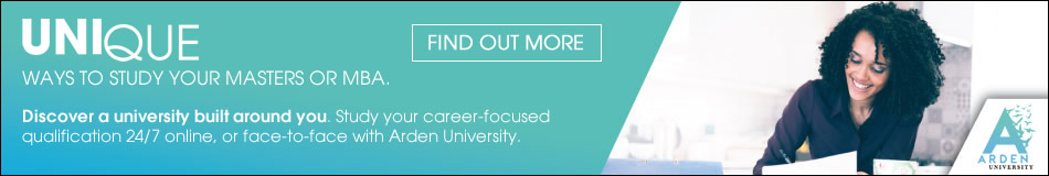 Arden University Featured Masters Courses