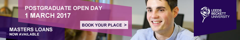 Leeds Beckett University Featured Masters Courses