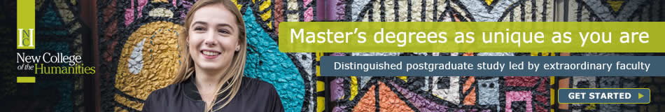 New College of the Humanities Featured Masters Courses