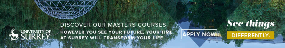 University of Surrey Featured Masters Courses