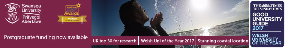 Swansea University Featured Masters Courses