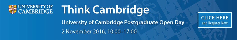 University of Cambridge Featured Masters Courses