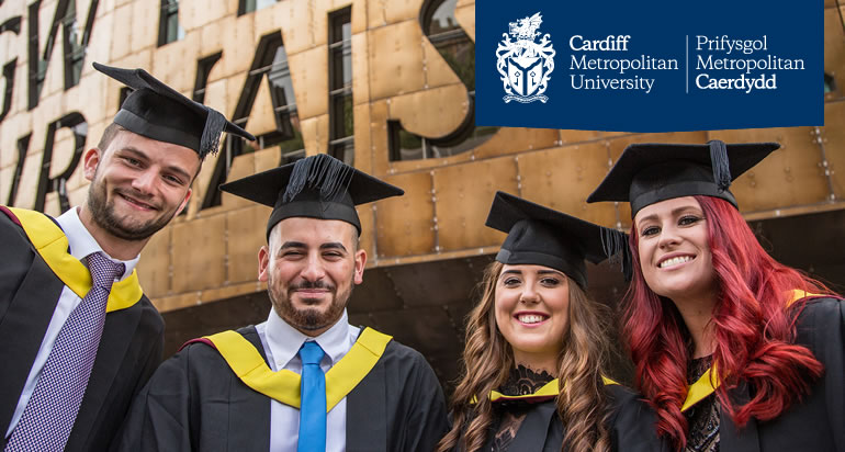 Cardiff Metropolitan University is an excellent choice for postgraduate and research study