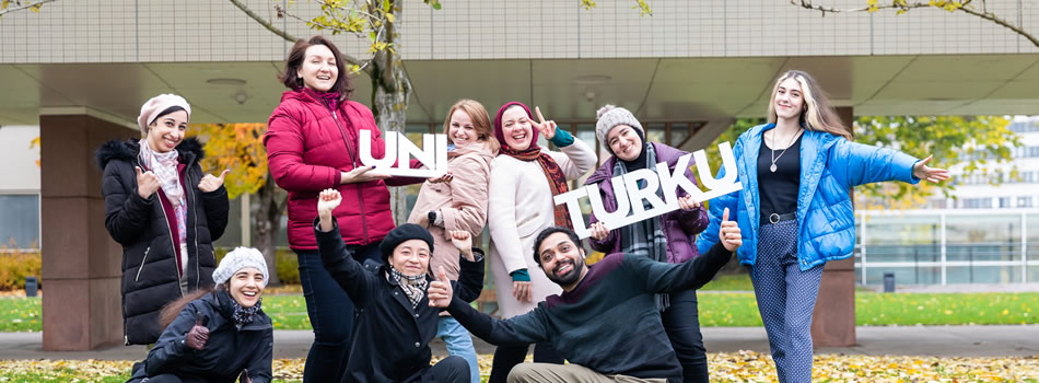University Logo logo for 10 best reasons to study at UTU