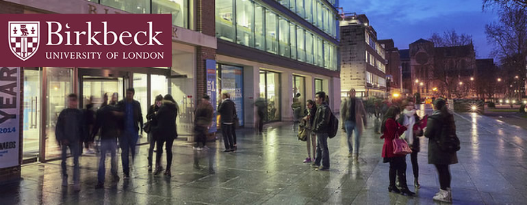 University Logo logo for Masters study at Birkbeck: a centre of world-class research