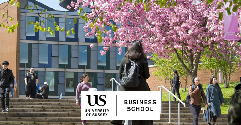 Transform your future with Masters study at the University of Sussex Business School