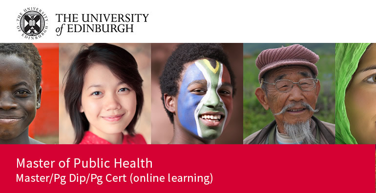Gain a Master of Public Health with the University of Edinburgh