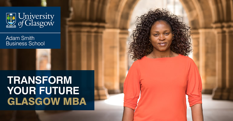 Accelerate your career with our one-year, world-class Glasgow MBA at the triple-accredited Adam Smith Business School