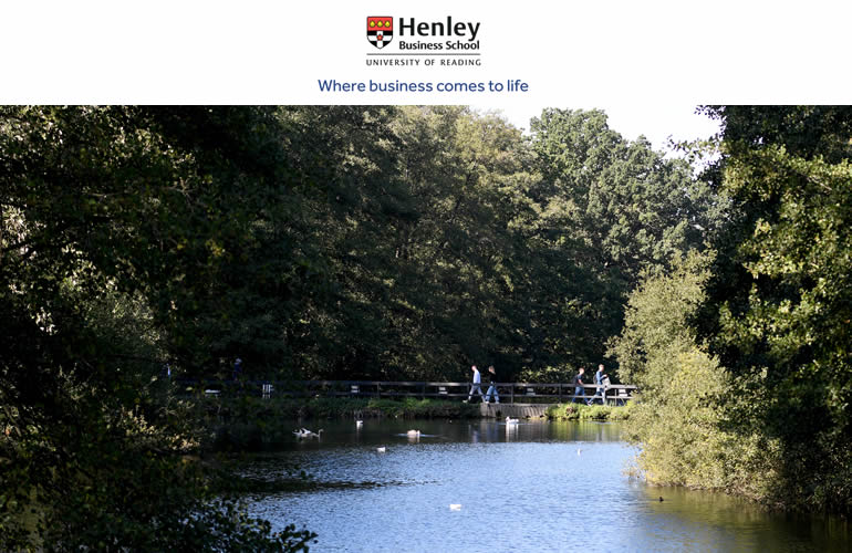 Study your Masters at Henley