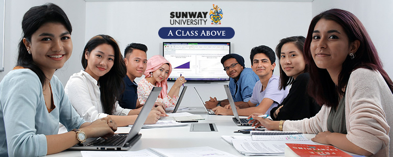 Be a class above with Sunway University