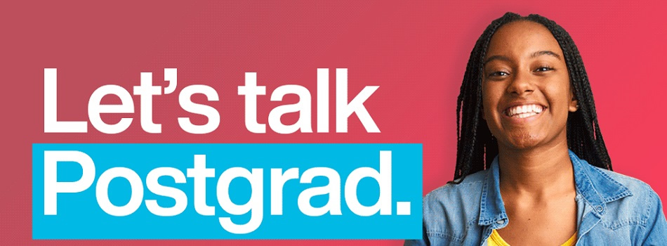 Let's Talk Postgrad - Virtual Event Open Day