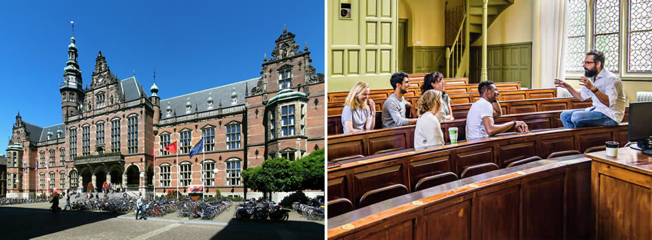 The University of Groningen is one of the oldest universities in the Netherlands