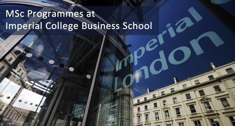 imperial college business school personal statement