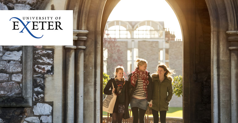 Choose Exeter for your Masters