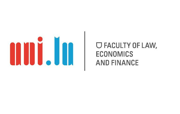 Faculty of Law, Economics and Finance Logo