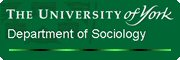 Department of Sociology Logo