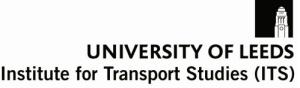 Institute for Transport Studies Logo