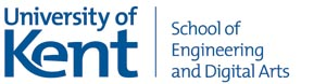 School of Engineering and Digital Arts Logo
