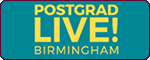 Postgraduate Study Fair, Postgraduate Study Fair, Birmingham. Wednesday 18th January 2017