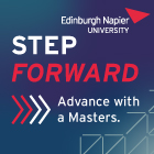 Edinburgh Napier University Featured Postgraduate Funding