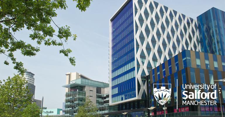 University of Salford's postgraduate open day.