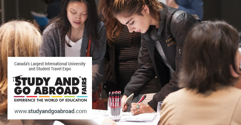 Study and Go Abroad Fairs Open Day